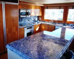 Blue Bahia Granite Countertops (2755), Blue Bahia, Kenmore, Washington