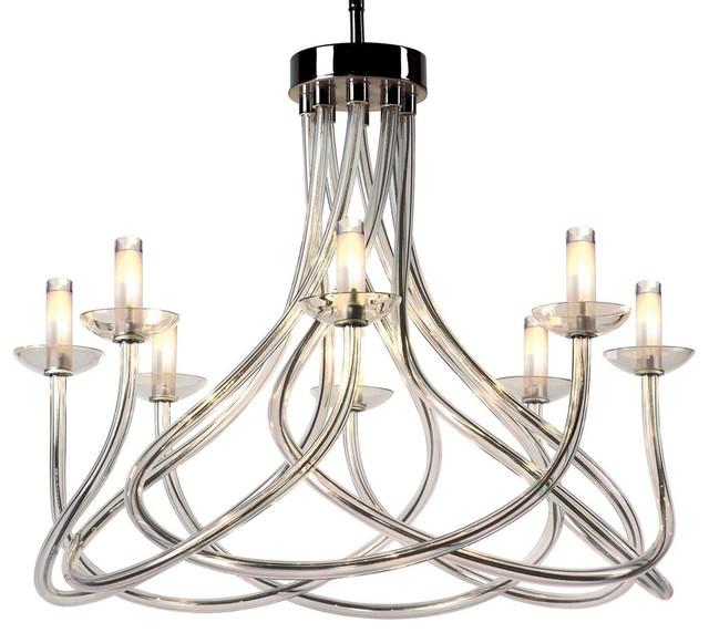 Modern Crystal Glass Chandelier modern-chandeliers