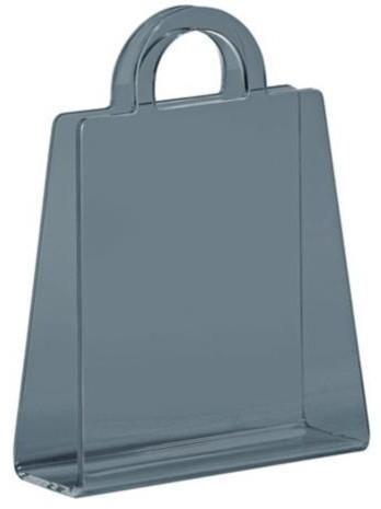 Zuo Purse Transparent Gray Modern Magazine Rack modern-magazine-racks