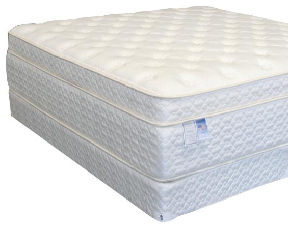 Pocket Coill Memory Foam Mattress & Box Spring Full Size