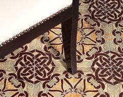 Knot Floor mediterranean-dining-room