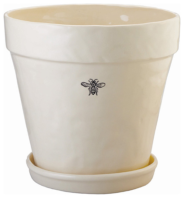 Bee Planter Large Contemporary Indoor Pots And Planters
