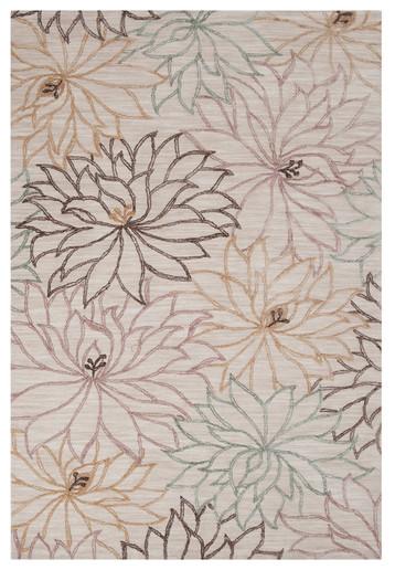 Ameila Honey Rug modern-rugs