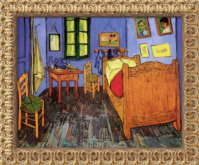 bedroom at arles st remy september 1889 by vincent van gogh