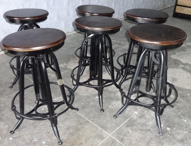 Industrial Retro Vintage Furniture Industrial Bar  : industrial bar stools and counter stools from houzz.com size 640 x 488 jpeg 104kB