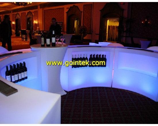 Bar Club Table ,12V plastic lighting LED furniture -