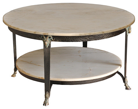 Marble Coffee Table Mediterranean Tables By Sarreid Ltd
