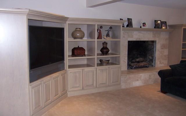 Fireplace Re-Do contemporary-family-room