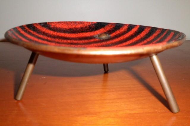 Retro Copperware Enamel Dish home-decor