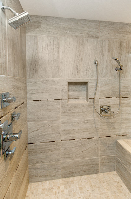 Stunning New Home in Urbandale contemporary-bathroom