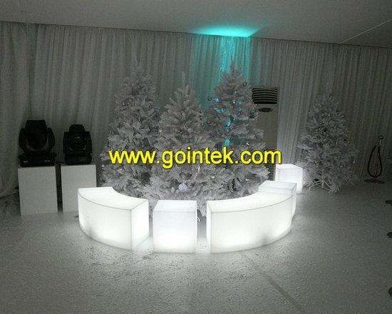 glow led stool for pub -