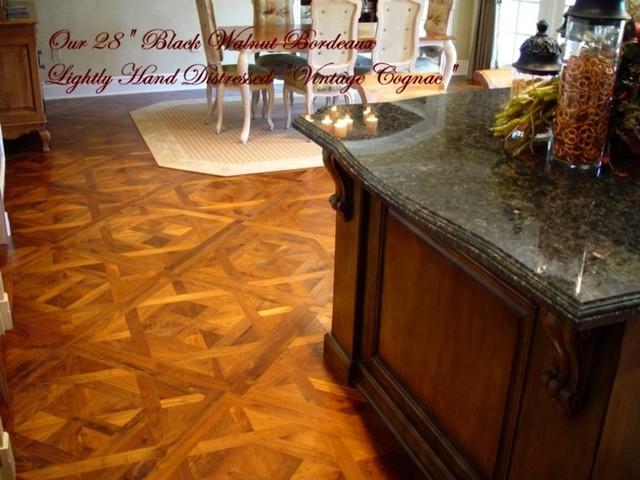 Bordeaux Parquet Pattern traditional-hardwood-flooring