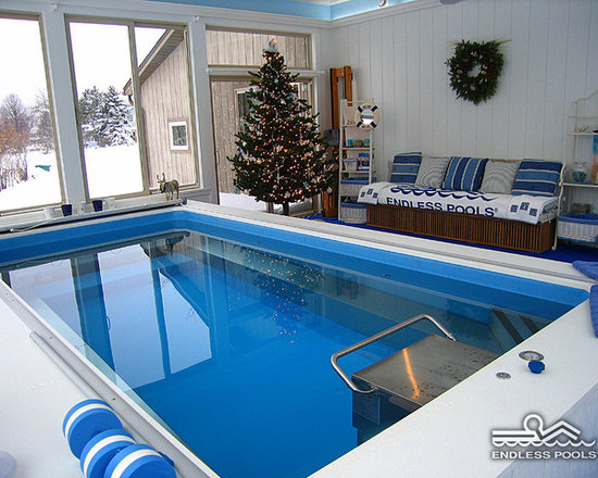 "Original Endless Pools® - How to give ""Blue"" Christmas a good name:"