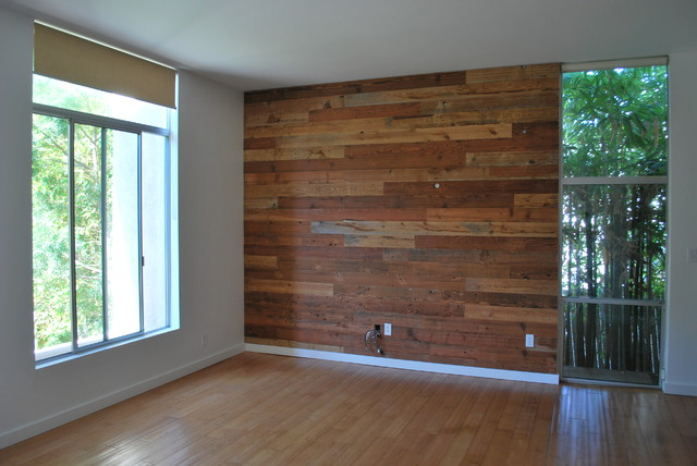 Custom Reclaimed Wood Accent Wall Rustic san diego  : rustic from www.houzz.com size 640 x 428 jpeg 71kB