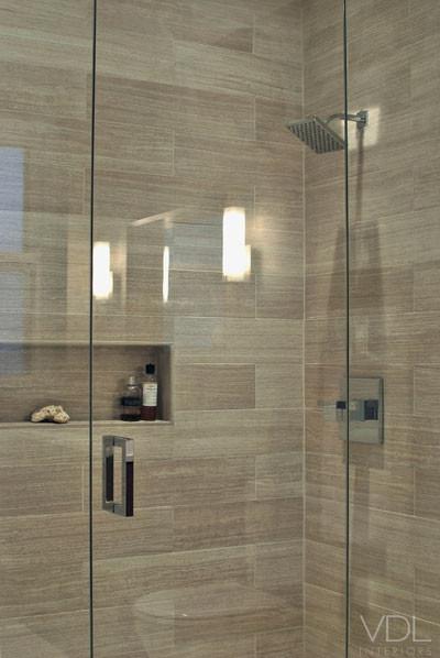 Faux Wood Tile In Showerjpg
