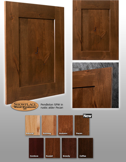 Pendleton SPW Showplace Cabinets traditional-kitchen-cabinets