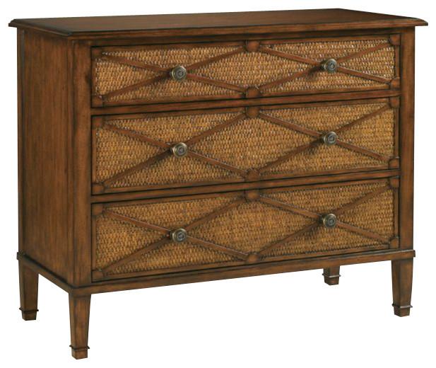 Henry Link Argyle 3 Drawer Dresser in Churchill tropical-dressers