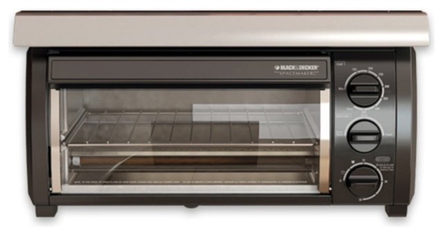 Black & Decker TROS1500B Spacemaker Toaster Oven - Black ...