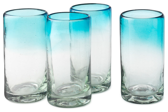 Ombré Water Glasses contemporary-everyday-glasses