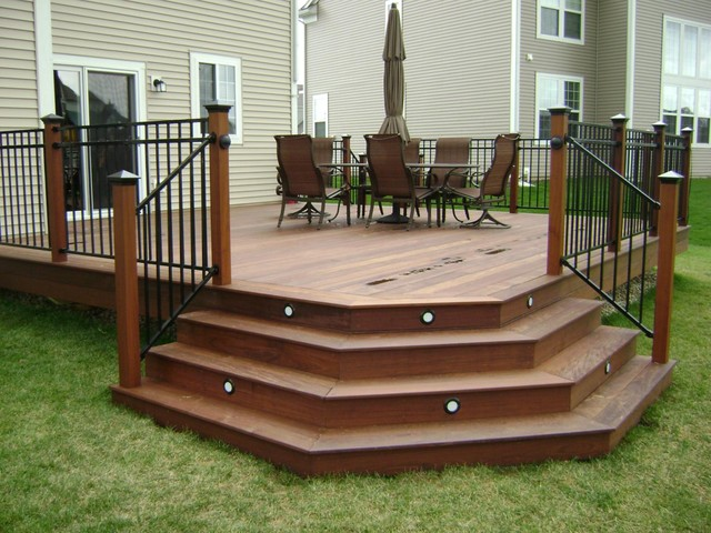 Ipe Hardwood Deck Chicago By Millennium Construction