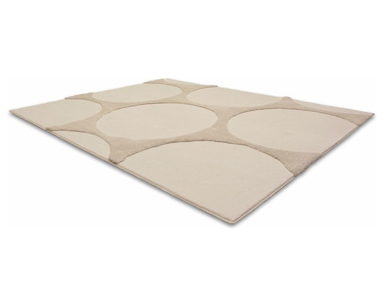 Spot Rug - This low pile nylon rug is made locally in California.