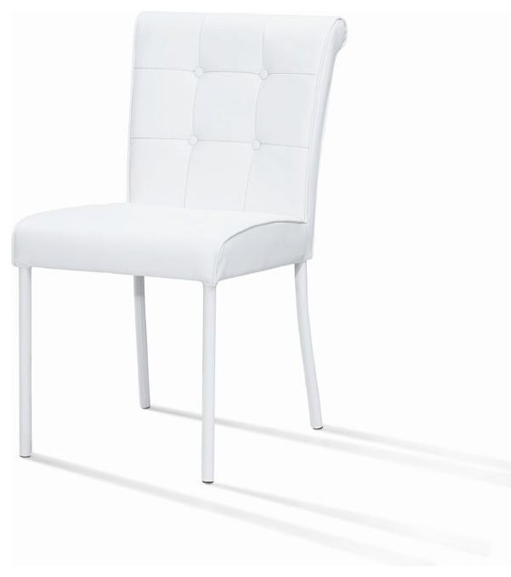 Modern Metal Dining Chair Contemporary Seat Cushions Other Metro By W