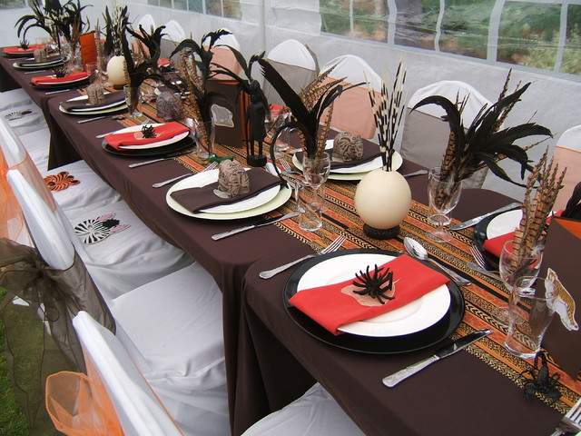 African themed summer party in the garden tropical london for African party decoration