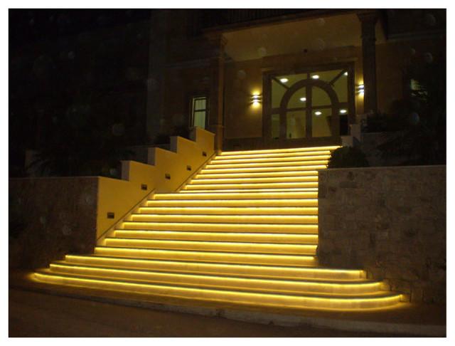 flexfire leds outdoor lighting stairs modern outdoor