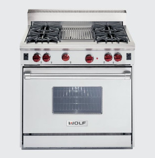 36 Quot Wolf Gas Range Gas Ranges And Electric Ranges By