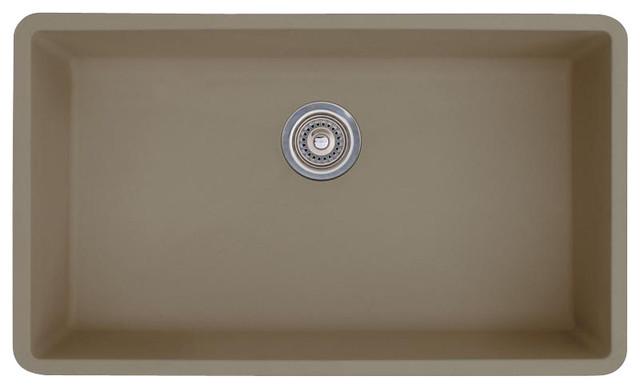 Blanco Truffle Sink : BLANCO 441297 Precis Single Kitchen Sink Truffle Kitchen Sink ...
