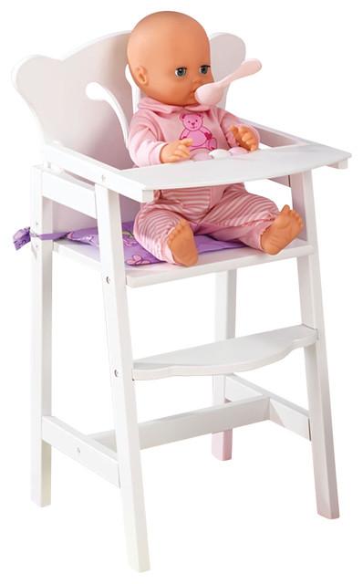 Kidkraft Kids Children Home Indoor Pretend Play Toy Lil' Doll High Chair - Contemporary - Kids ...