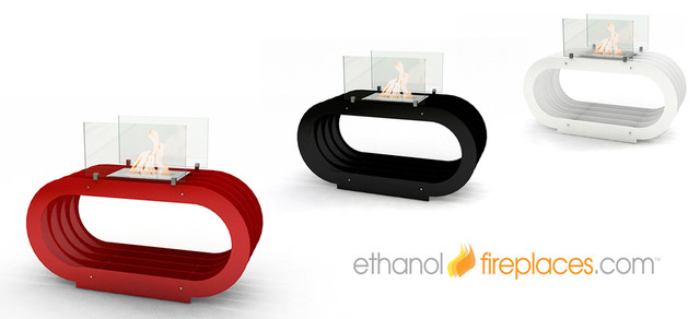 Special Order Ethanol Fireplaces contemporary-indoor-fireplaces