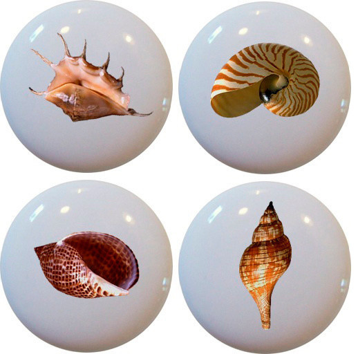 ... Ceramic Cabinet Drawer Knobs beach-style-cabinet-and-drawer-knobs