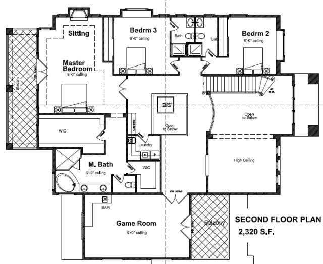 Vastu House In California Contemporary Floor Plan