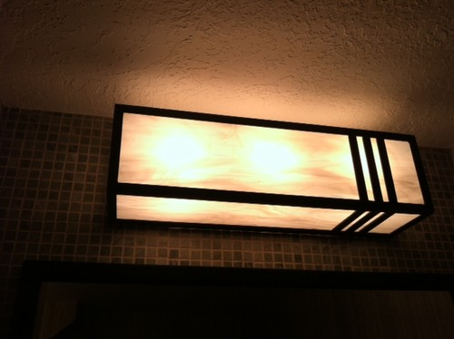 Vanity Lights Cover : bathroom vanity light covers - 28 images - bathroom midcenturythriftygal page 3, pin by sdr mld ...