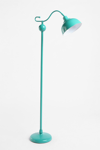 Stella Floor Lamp, Turquoise eclectic floor lamps
