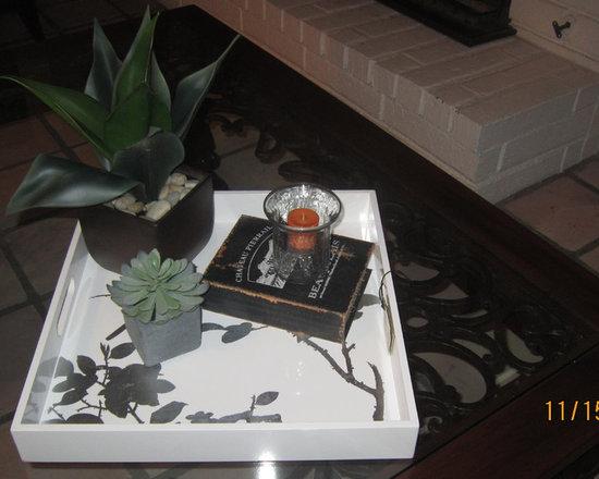 living room - simple change big impact