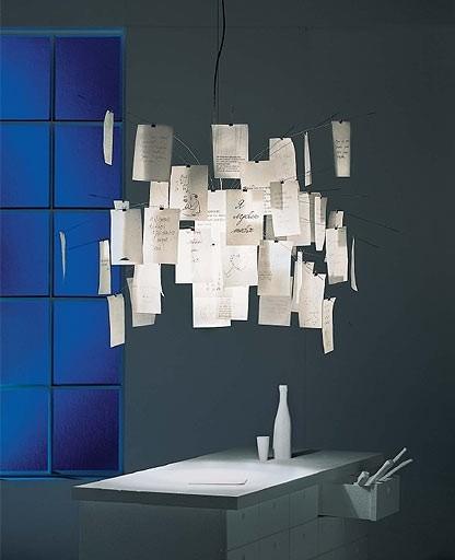 Ingo Maurer - Zettelz 5 Chandelier | Pendant Light modern-pendant-lighting
