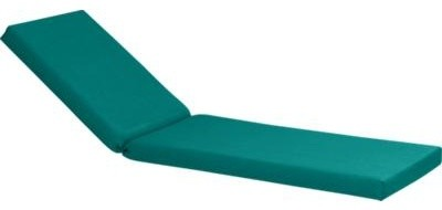 Valencia Sunbrella Harbor Blue Chaise Lounge Cushion contemporary-indoor-chaise-lounge-chairs