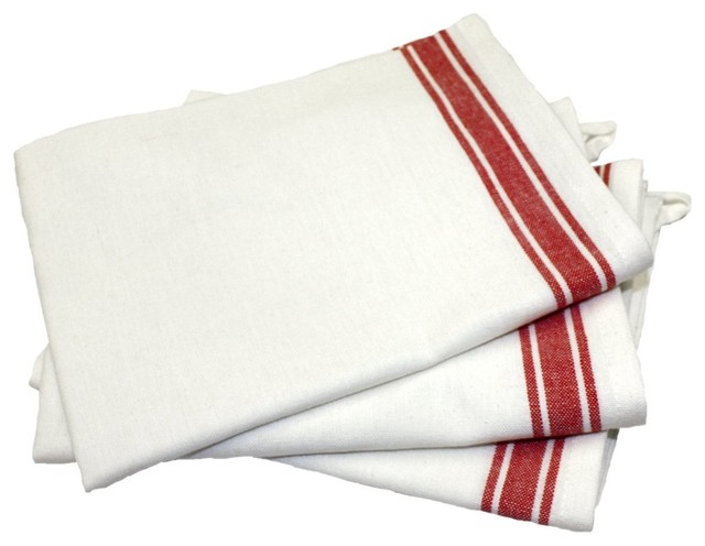 martha s vintage dish towels striped