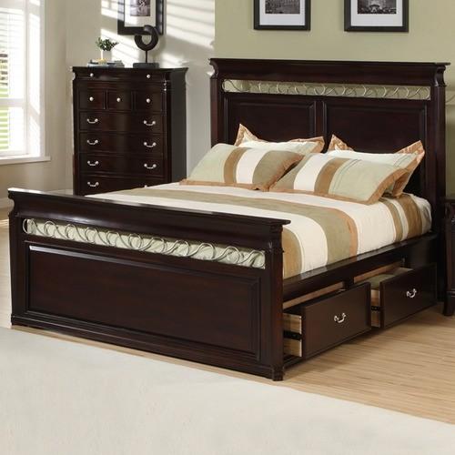 Collinsville Storage Panel Bed modern-beds