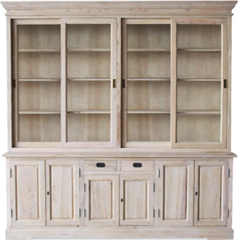 Cranberry Cabinet eclectic-buffets-and-sideboards