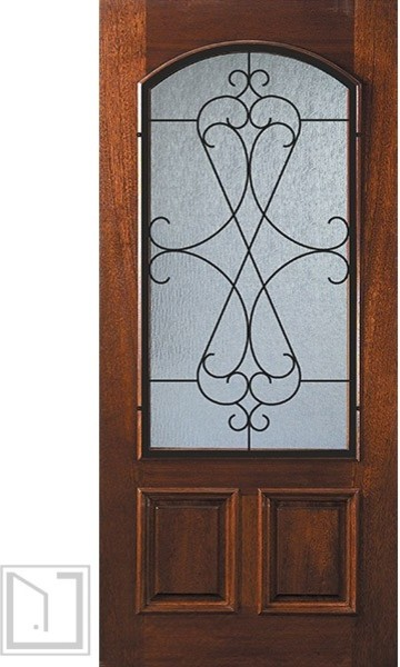 Stained Glass Cabinet Doors Kitchen Design Ideas