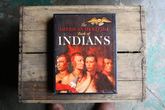 American Heritage Book of Indians by Little Byrd Vintage traditional-books