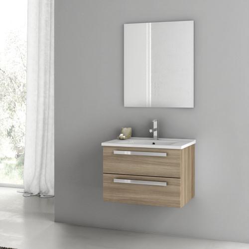 inch style oak bathroom vanity set contemporary bathroom vanities