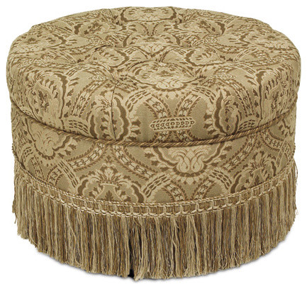 Nottingham Round Ottoman footstools-and-ottomans