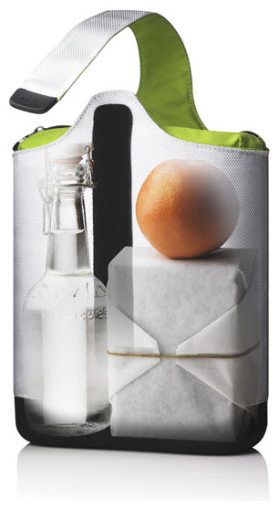 Cool Lunch, White/Lime contemporary-food-containers-and-storage