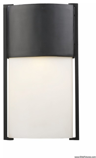 1 Light LED Outdoor Wall Mount Modern Outdoor Wall Lights And Sconces B