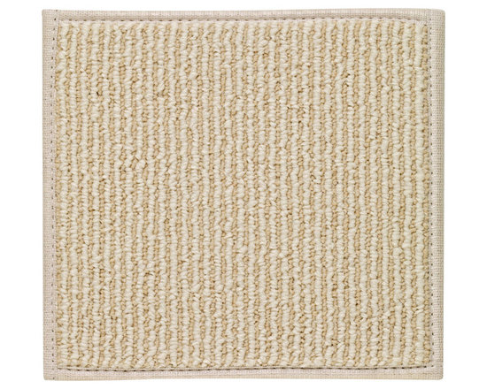 Creative Concepts rug in Beach Sisal base - Inviting, effortless and utterly relaxed, our Creative Concepts collection is designed for mixing and matching the way you choose. Designed for indoor and outdoor enjoyment, the premium olefin bases are made in the USA and the harmonious fabric borders are both durable and washable.