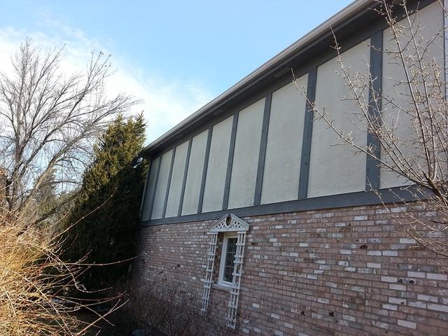 Oak brook james hardie stucco for Stucco board siding